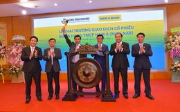 Hôm nay 09/10, hơn 389 triệu cổ phiếu Nam A Bank chính thức lên sàn UPCoM