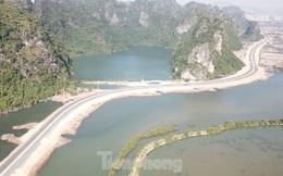 Trên công trường thi công đường bao biển hơn 2.000 tỷ nối TP Hạ Long - Cẩm Phả