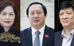 Quốc hội tiến hành phê chuẩn bổ nhiệm 3 tân thành viên Chính phủ