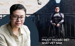 """Chàng trai đi phượt bằng xe lăn, chinh phục những con đèo hiểm trở nhất Việt Nam: """"Mất 10 năm định nghĩa hai từ """"tự do"""" bằng cách chưa ai từng làm!"""""""