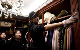 Kỳ lạ nghề sắp xếp tủ quần áo cho giới thượng lưu Trung Quốc, lương tới 2.000 USD/lần dọn dẹp