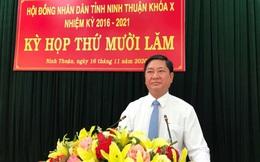 Ninh Thuận có tân Chủ tịch UBND tỉnh