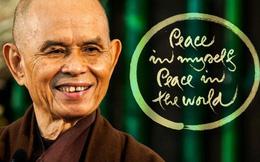 Thiền sư Thích Nhất Hạnh: Cuộc sống vừa đáng sợ vừa tuyệt vời, xin hãy mỉm cười thật nhiều vì đó mới là cách thiền định tốt nhất để hạnh phúc