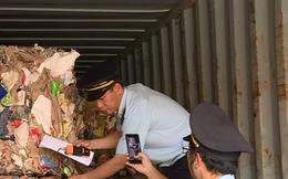 Hơn 1.500 container phế liệu 'nằm ăn vạ' ở cảng Cát Lái nhiều năm
