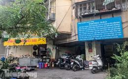 Cận cảnh các chung cư trước nguy cơ đổ sập bất cứ lúc nào ở Hà Nội