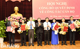 Thành ủy Đà Nẵng công bố các quyết định về công tác cán bộ