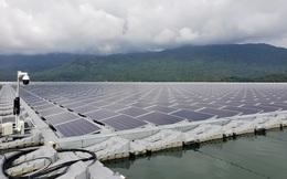 Nhộn nhịp dự án điện mặt trời trên nước
