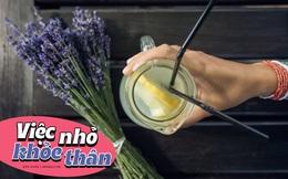 Tiết lộ loại tinh dầu quý, chỉ cần vài giọt vào cốc nước chanh, một tuần mới tràn đầy năng lượng của bạn đã sẵn sàng!