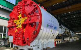 Cận cảnh robot đào hầm nặng 850 tấn của Metro Nhổn-ga Hà Nội về đến Việt Nam