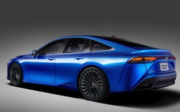 Toyota ra mắt mẫu xe chạy pin nhiên liệu Mirai thế hệ thứ hai