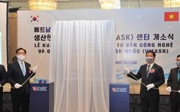 Khánh thành Trung tâm Tư vấn và Giải pháp Công nghệ Việt Nam – Hàn Quốc
