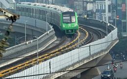 9 đoàn tàu đường sắt Cát Linh - Hà Đông đồng loạt chạy thử