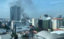 CLIP: Cháy trong hẻm 416 đường Nguyễn Đình Chiểu, quận 3, TP HCM