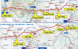 Bà Rịa - Vũng Tàu trình Bộ GTVT báo cáo nghiên cứu tiền khả thi cao tốc Biên Hòa - Vũng Tàu