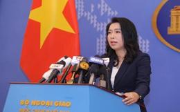 Bộ Ngoại giao Việt Nam lên tiếng trước hai động thái của Hoa Kỳ