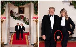 Vợ chồng Tổng thống Trump rạng rỡ trong ảnh Giáng sinh chính thức, dân mạng tinh mắt nhận ra một chi tiết gây khó hiểu