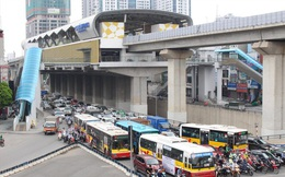 50 tuyến buýt trung chuyển khách đi tàu Cát Linh - Hà Đông