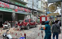 Công an đang phong tỏa hiện trường vụ nổ quán ăn ở quận Phú Nhuận