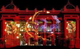 """Nhà hát lớn Hà Nội được """"biến hình"""" bằng 3D mapping trong bữa tiệc âm nhạc mừng Giáng sinh: Mở cửa tự do cho công chúng"""