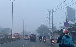 Sương mù trắng xoá ở TP HCM nhưng tia cực tím lại âm thầm gây hại