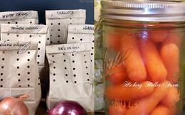18 cách bảo quản rau củ tươi ngon: Nhiều mẹo rất hay và đơn giản mà bạn chưa biết!