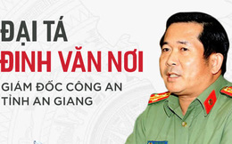 Sự nghiệp và những phát ngôn đanh thép của Đại tá Đinh Văn Nơi - Giám đốc Công an An Giang
