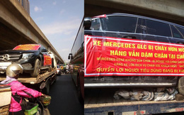 """Xe Mercedes GLC 200 cháy hồi tháng 6 """"diễu hành"""" giữa phố: Sau nửa năm vẫn chưa có ai nhận trách nhiệm?"""