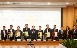 Công bố quyết định điều động, bổ nhiệm lãnh đạo sở, ngành Hà Nội