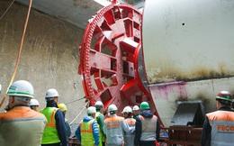 Tận thấy lắp ráp robot đào hầm khủng tuyến metro Nhổn - ga Hà Nội