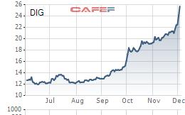 """DIC Corp (DIG) """"chốt lãi"""" thành công 8,26 triệu cổ phiếu quỹ với giá gấp đôi giá mua vào"""