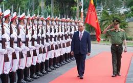 Chùm ảnh: Thủ tướng dự và phát biểu chỉ đạo Hội nghị Công an toàn quốc