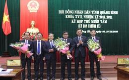 Quảng Bình có 3 tân Phó Chủ tịch UBND tỉnh