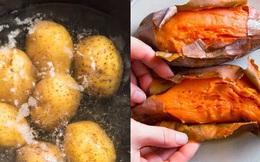 Khoai lang hay khoai tây bổ dưỡng hơn? Chuyên gia bật mí cách ăn khoai chuẩn nhất