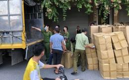 Tạm giữ gần 800.000 chiếc khẩu trang không hóa đơn tại Hà Nội
