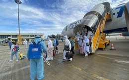 Đưa hơn 260 công dân Việt Nam từ UAE về nước an toàn