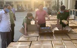 Bắt giữ vụ buôn lậu 64.000 bao thuốc lá điếu nhập lậu nhãn hiệu 555