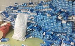Phát hiện nhà xưởng 2.000m2 dùng để đóng găng tay tái chế tại khu Công nghiệp Lương Sơn