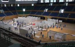 Cận cảnh: Bên trong cung thể thao được trưng dụng làm Bệnh viện dã chiến COVID-19 đầu tiên ở Đà Nẵng