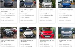"""Ngân hàng """"đua nhau"""" thanh lý ô tô, hàng loạt xe giá từ 60-200 triệu đồng"""
