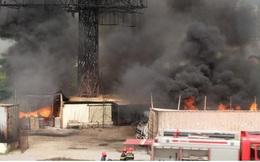 Cháy tại Công ty vận tải xăng dầu Bắc Hà (Hải Phòng)