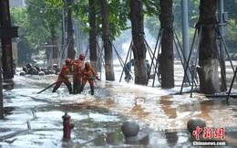 Trung Quốc lại hứng đợt mưa mới, sông Hoàng Hà nâng mức cảnh báo