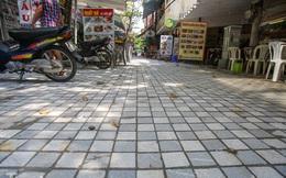 Cải tạo vỉa hè phố ẩm thực 'không ngủ' ở Hà Nội
