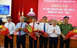 Ông Nguyễn Thanh Bình được bầu làm Phó Chủ tịch UBND tỉnh Thừa Thiên Huế