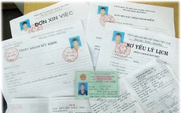 Từ 01/9 xác nhận sơ yếu lý lịch đã ký sẵn bị phạt đến 7 triệu đồng