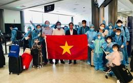 Đưa gần 350 công dân Việt Nam từ Hoa Kỳ trở về nước