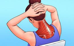 Có 5 vị trí trên cơ thể hay bị đau mỏi nhất, bao gồm cả cổ, vai: Làm ngay việc này để giảm căng thẳng ở những vùng cơ thể đó