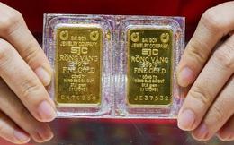 Giá vàng tăng 2 triệu đồng/lượng chỉ trong vài giờ đồng hồ