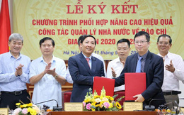 Sở Thông tin và Truyền thông Hà Nội hợp tác cùng Cục Báo chí nâng cao hiệu quả quản lý báo chí