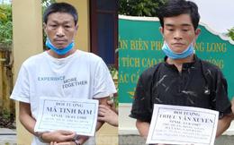 Nhóm người Trung Quốc trốn trong rừng sau khi nhập cảnh trái phép