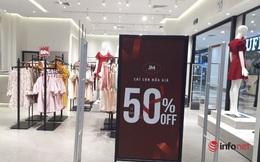 Thời trang hàng hiệu giảm giá rẻ như bèo vẫn vắng bóng khách mua